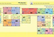 Giá tốt, bán căn chung cư 122 Vĩnh Tuy diện tích 64.42m2, 2PN