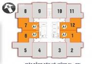 Gấp! Bán CHCC Nam Xa La, Phúc Hà tầng 2011 tòa CT1, DT: 83,8m2, giá 14tr/m2. LH 0985354882