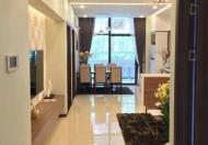 Cho thuê căn góc tòa B Golden Land, 133m2, 3PN, đồ gắn tường