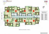 Bán gấp CHCC 89 Phùng Hưng, Hà Đông, Hà Nội, DT: 80,26m2, tầng 18.05, giá: 17tr/m2.0985354882
