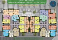 Cần tiền bán gấp chung cư Golden West, căn 15A10, DT: 82.5m2, giá 25.5 tr/m2. 0963922012