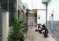 Bán nhà hẻm 4m đường Gò Dầu, Q. Tân Phú (DT: 3.6x12.4m, 1 lầu mới, 2.75 tỷ)