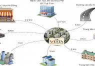 Hỗ trợ lãi suất cố định 5% dự án The Vesta Phú Lãm giá chỉ từ 740tr, chỉ cần đóng 240tr có nhà ngay