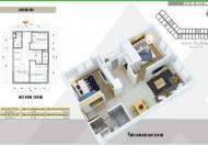 Bán căn hộ 47m thiết kế 2pn dự án Xuân Mai Complex – Hà Đông, hỗ trợ vay lãi suất 0%, tặng Phone 7. Liên hệ: 0904.529.268