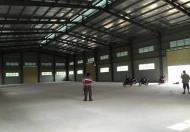 Cho thuê kho, nhà xưởng 1000m đến 4000m2 tại Mê Linh, Hà Nội, gần chợ Quang Minh