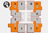 Cần tiền bán gấp CC chung cư Nam Xa La, căn 70,4m2 căn 1801-CT1, giá 14,5tr/m2. 0963744830