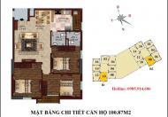 Chính chủ cần bán căn 1710 B1 chung cư B1B2 Tây Nam Linh Đàm