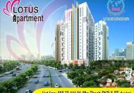Bán căn hộ Lotus Sen Hồng Thủ Đức 566tr tầng thấp 5,6 trả trước 141tr. Sổ hồng vĩnh viễn 0982244481