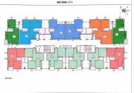Bán căn 63,64m2 tòa CT2A chung cư tái định cư Hoàng Cầu giá chỉ 27,5tr/m2