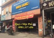 Cho thuê mặt phố Bà Triệu, 60m2 MT: 7m, 2 tầng, 52tr/th, 0981- 337- 456
