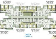 Bán căn hộ Palm Heights Q2, T2.12.01 căn 2PN, 2WC, view nội khu, giá bán 2.87 tỷ