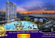 Căn hộ view hồ bơi MT Nguyễn Tất Thành giá chỉ 25tr/m2 liền kề Q1, 4 TT chỉ 1%/th, lh: 0937.726.338