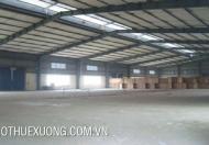 Cho thuê nhà xưởng 6005m2 trong KCN Đình Trám, Việt Yên, Bắc Giang
