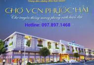 Bán kiot chợ VCN Phước Hải, kinh doanh buôn bán rất hiệu quả