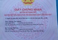 Bán 40m2 đất sổ đỏ chính chủ gần chung cư Victoria Văn Phú, Hà Đông, vị trí đẹp