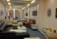 Cho thuê văn phòng tại mặt phố Lê Văn Hưu, có thang máy, bảo vệ 24/24, miễn phí wifi LH 0931743628