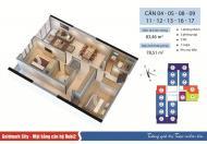 Cho thuê căn hộ chung cư cao cấp Goldmark City, 136 Hồ Tùng Mậu