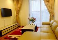 Cho thuê CHCC Royal City tầng 18, DT 123m2, 2 phòng ngủ sáng, nội thất cơ bản 15 tr/tháng
