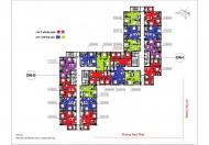Bán căn hộ chung cư Hà Nội Center Ponit 37 Lê Văn Lương căn tầng 1810 DNI, DT: 80.97m2, giá 33tr/m2