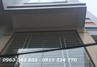 Bán nhà mới lô góc 2 mặt thoáng ngõ 168 Kim Giang, Thanh Xuân, 36m2, 5 tầng, 6PN, 0963343833