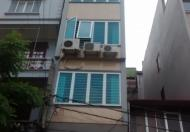 Nhà mặt ngõ 24 Kim Đồng 44m2 x6 tầng, MT 4m, 6.8 tỷ, vỉa hè, kinh doanh
