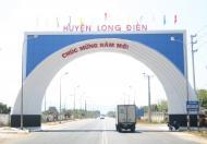 Đất nền trung tâm Long Điền Bà Rịa, 4tr/m2 thanh toán 50% nhận nền xây ngay. LH: 0934692024
