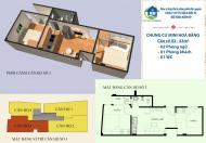 CĐT bán CCMN Yên Hòa, Cầu Giấy DT 31- 52m2, hơn 700 triệu. Hoàn thiện nội thất vào ở ngay