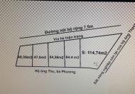 Cần bán nhanh 5 lô đất khu đấu giá, ngõ 200 Văn Cao, Ngô Quyền, Hải Phòng