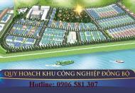 Chỉ 1.2 – 2.5 tr/m2 đất KCN Cảng Cá 19ha Hậu Lộc, Thanh Hóa DT từ 300 - 20000m2 LH 0906581307