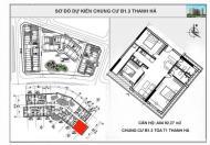 Chung cư T1, T2, T3 Thanh Hà Cienco 5 mở bán đợt đầu chỉ 10 triệu/m2
