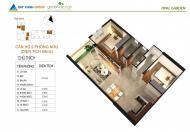 Bán căn hộ Block B tầng 3 dự án Opal Garden DT 69,5m2. Thiết kế 2PN/ 2WC cách Phạm Văn Đồng 50m