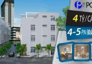 Bán nhà 1 trệt, 3 lầu, 1 sân thượng, giá từ 4.3 tỷ, cạnh Phú Mỹ Hưng
