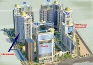 Cho thuê căn hộ chung cư 131m2 tầng cao giá 16,5T/m2 Tòa R5 Khu đô thị Royal City Hà nội