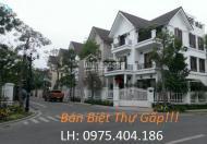 Bán nhanh căn biệt thự nhà vườn Trung Văn, Hancic căn góc 123m2, 147m2 và 170m2 cực đẹp