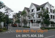 Bán nhanh căn biệt thự Nhà Vườn Trung Văn, Hancic căn góc 123m2,147m2 và 170m2 cực đẹp