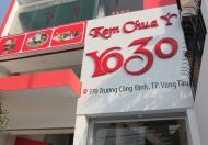 Cho thuê nhà mặt tiền đường Trương Công Định, Phường 3, thành phố Vũng Tàu