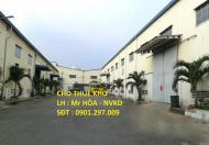 Cho thuê kho xưởng chính chủ KCN Sóng Thần, Bình Dương