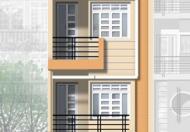$Cho thuê nhà MT Phan Văn Trị, Q.GV, (DT: 4.5x25m, trệt, 2 lầu). Giá: 30tr/th