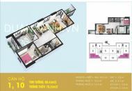 Chung cư Tabudec Plaza Hà Đông, nhận bàn giao ngay, kí HĐMB trực tiếp CĐT giá 14tr/m2. LH 0989.849.009