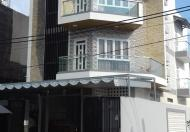 Nhà mới 4m x 14m, 1 trệt, 2 lầu, 4PN, hẻm Bình Long, Q.Tân Phú, giá 7tr/th