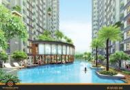 1.5 tỷ/căn 3PN mặt tiền Lý Chiêu Hoàng, góp 1%/tháng 0ls, view hồ bơi sô lượng có hạn