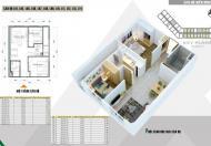 Bán căn hộ view trực diện bể bơi tầng 11 tòa L DT 58m2 giá 1.009 tỷ