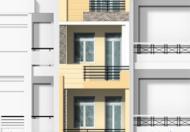 $Cho thuê nhà MT Nơ Trang Long, Q.BT, (DT: 4.5x19m, trệt, 3 lầu). Giá: 40tr/th