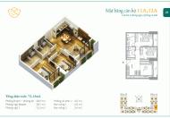 Phân phối chính thức chung cư Anland Complex, DT 54 - 90m2, chiết khấu 9%, tư vấn 24/24 0986133533