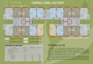Chính chủ 0981017215 bán chung cư Thăng Long Victory, giá 13tr/m2, căn góc DT 93m2, nhận nhà luôn