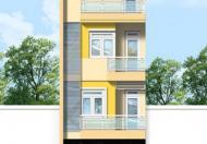 $Cho thuê nhà MT Lê Đức Thọ, Q.GV, (DT: 4.5x25m NH 7.5m, trệt, 3 lầu, st). Giá: 40tr/th