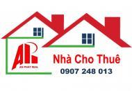 Cho thuê nhà 3 tầng đường Lý Nhân Tông, LH 0907 248 013