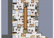 Bán CHCC 41m, 2 ngủ, ngõ 387 Vũ Tông Phan, nhà ở ngay, tách sổ