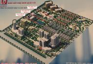 Mở bán các lô đất liền kề, biệt thự đẹp nhất dự án KĐT mới Quế Võ