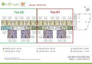 Cần bán căn 2102 tòa A2 chung cư Ecolife Capitol dt 103,1m2, 3pn, 2vs, giá 27tr/m2